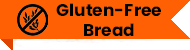 An orange gluten-free ribbon