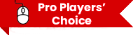 A red ribbon about pro players' choice