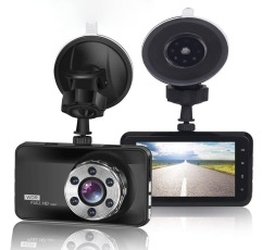Orskey S680g dash cam on a white background