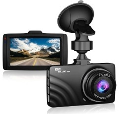 Claoner Dash Cam on a white background