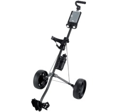 Ben Sayers Steel Trolley golf push cart on a white background