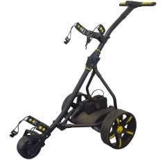 Rider Electric Golf Trolley golf push cart on a white background