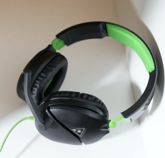 Turtle Beach Recon 70X gaming headset on a white surface