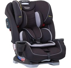 Graco Slimfit car seat on a white background