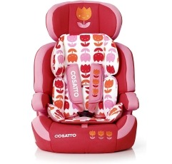 Cosatto Zoomi car seat on a white background
