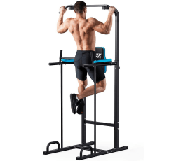 JX FITNESS Power Tower on a white background
