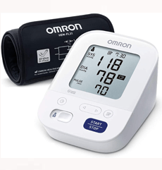 Omron X3 Comfort Blood Pressure Monitor on white background