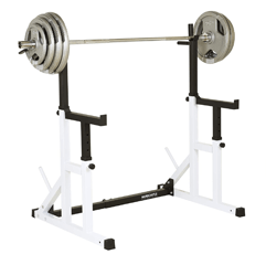 Hardcastle Bodybuilding Squat Rack on a white background