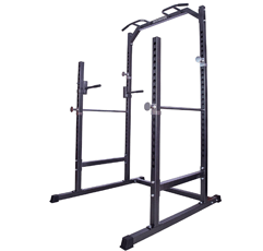 Gym Master Heavy Duty Squat Rack on white background