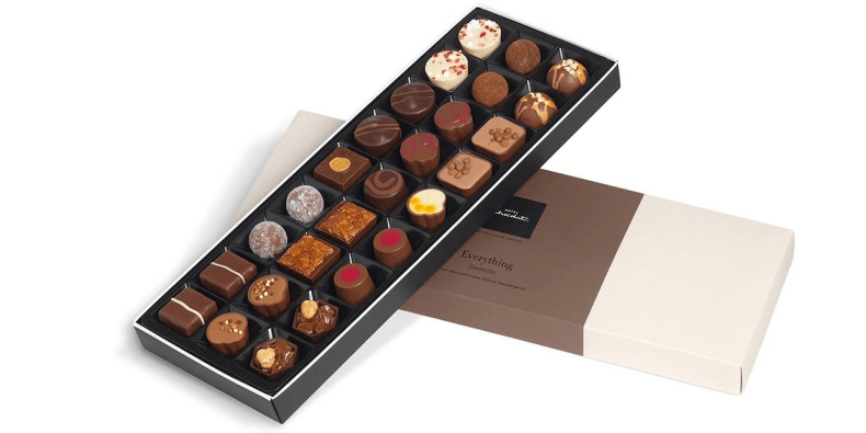 Hotel Chocolat The Everything Sleekster box on a white background