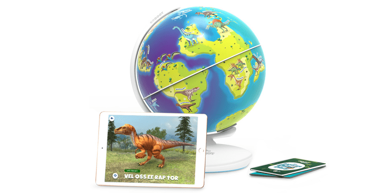 Shifu Orboot World Of Dinosaurs app game on a white background