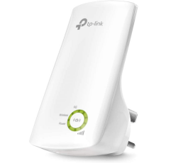 TP-Link N300 TL-WA854RE wifi booster on a white background