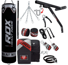 RDX 17pc Heavy Bag home gym equipment on a white background