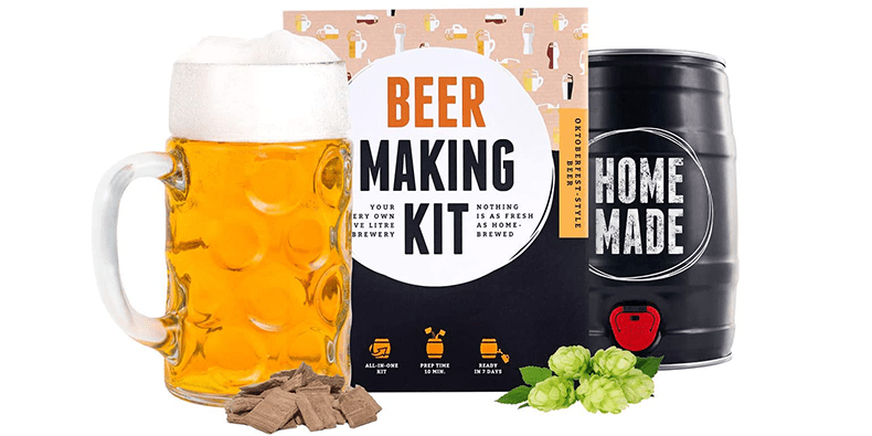 Beer Making Kit on a white background