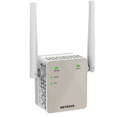 NETGEAR EX6120 wifi booster on a white background