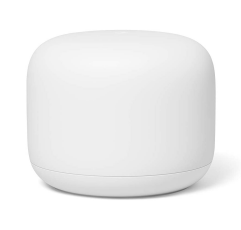 Google Nest Wifi Router on a white background