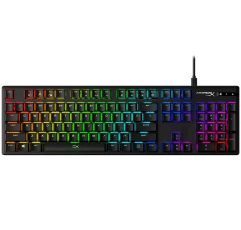 HyperX Alloy Origins gaming keyboard on a white background