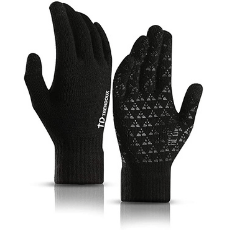 TRENDOUX Thermal Winter Touch Screen Gloves on white background