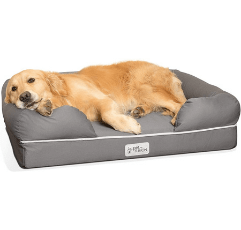 PetFusion Dog Bed on white background