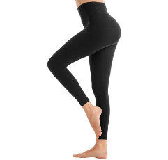SINOPHANT High Waisted Leggings on white background