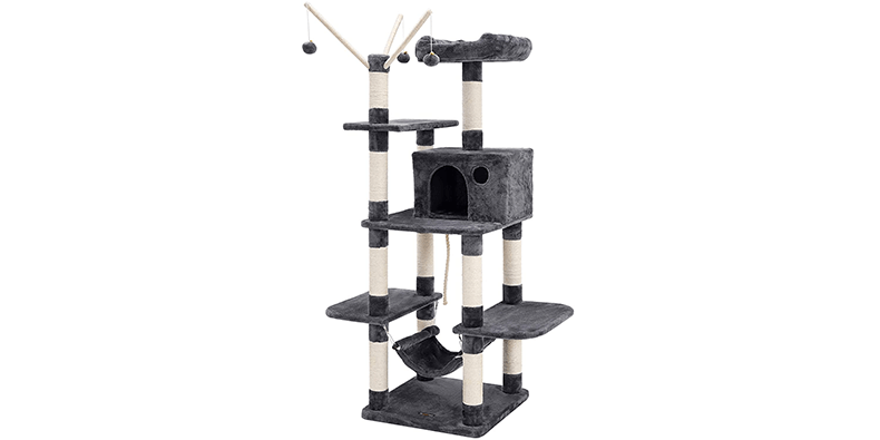 FEANDREA Cat Tree on a white background