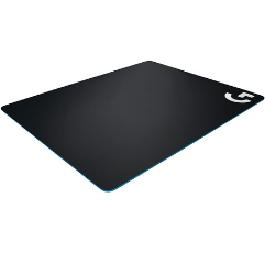 Logitech Hard Gaming Mouse Pad on white background