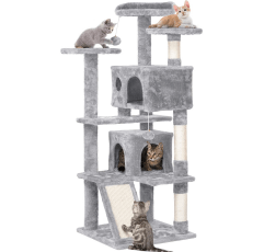 Yaheetech Cat Tree on a white background