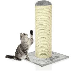 COZY PET Deluxe Super Large Cat Scratching Post on white background