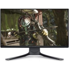 """Alienware AW2521HF 24.5"""" (1920x1080p) gaming monitor on a white background"""