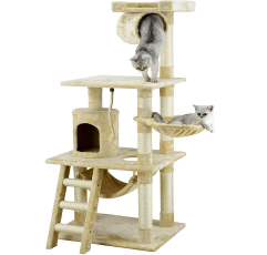 Go Pet Club Cat Tree on a white background