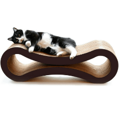 PetFusion Ultimate Cat Scratcher Lounge on white background