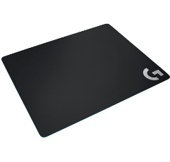 Logitech Gaming Mouse Pad on white background