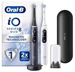 Oral-B iO8 Electric Toothbrush on a white background