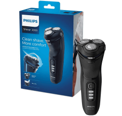 Philips New Series 3000 Electric Shaver on a white background