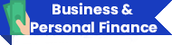 business and personal finance ribbon