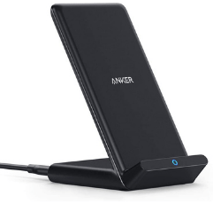 Anker Wireless Charger on white background