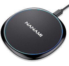 NANAMI Wireless Charger on white background