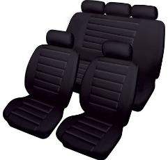 Cosmos Carrera Car Seat Covers on white background