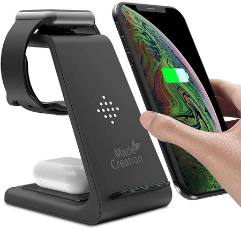 Made Creation Wireless Charger on white background