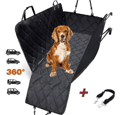 AMZPET Dog Car Seat Cover on white background