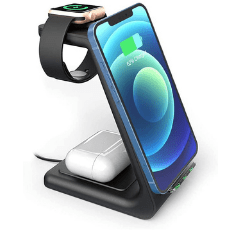 Geekera Wireless Charger Stand on white background