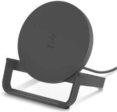 Belkin Wireless Charging Stand on white background