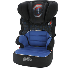 Nania High Back Booster Seat on white background