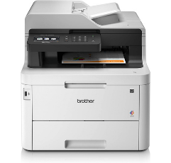 Brother All-in-One Laser Printer on white background
