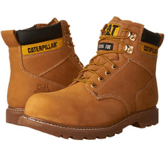 Caterpillar Second Shift Safety Boot on white background