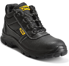 Black Hammer Mens Safety Boots on white background