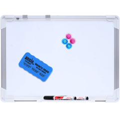 Ansio Double Sided Whiteboard on white background