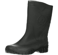Dunlop Short Leg Safety Boots on white background