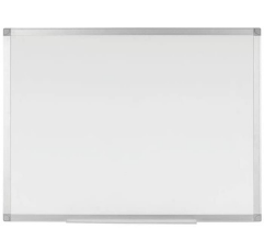 Q Connect Magnetic Drywipe Whiteboard on white background